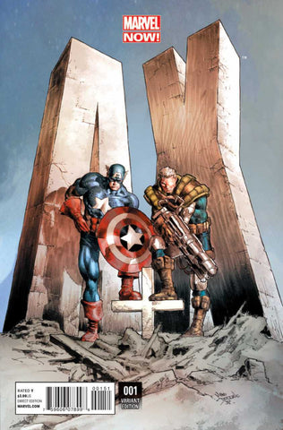 A+X (2012 Series) #1 (Variant Incentive Cover - Mike Deodato)