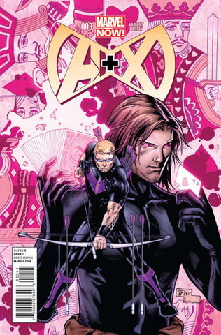 A+X (2012 Series) #3 (Variant Incentive Cover - Billy Tan)