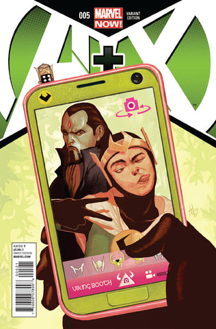 A+X (2012 Series) #5 (Variant Incentive Cover - Mike Del Mundo)