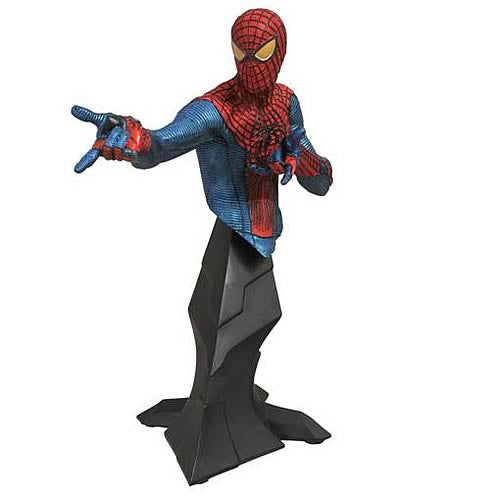 Amazing Spider-Man (Film) – Spider-Man Bust (Metallic Variant, SDCC 2012 Diamond Select Exclusive)