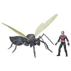 "Ant-Man Infinite Series – Ant-Man 3.75"" Figure with Flying Ant Figure"
