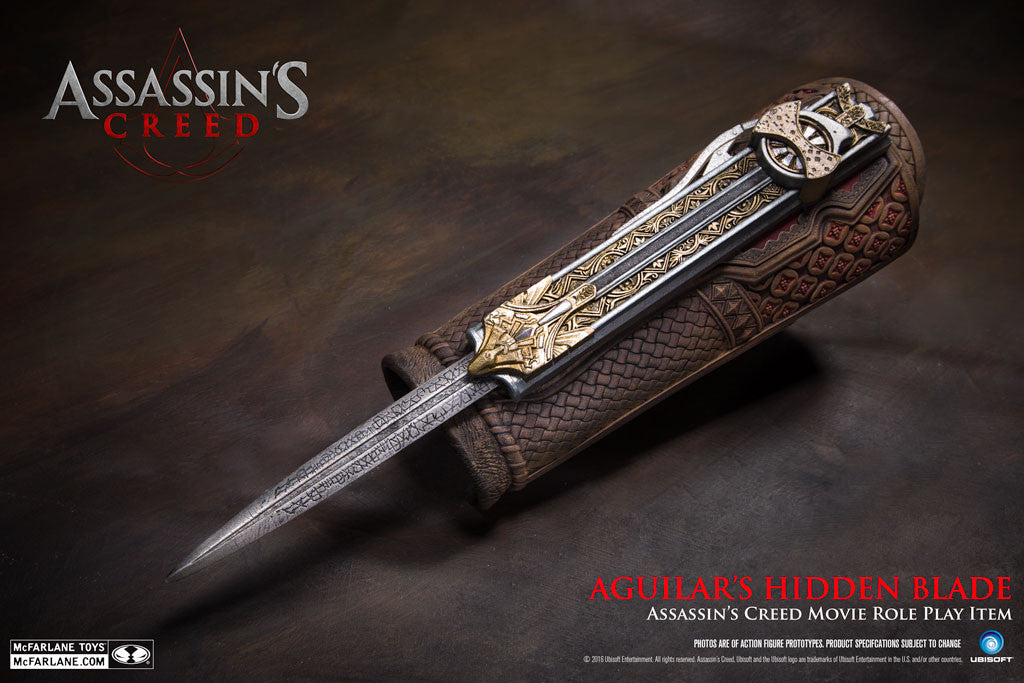 Assassin's Creed (Film) – Aguilar's Hidden Blade Movie Prop Replica