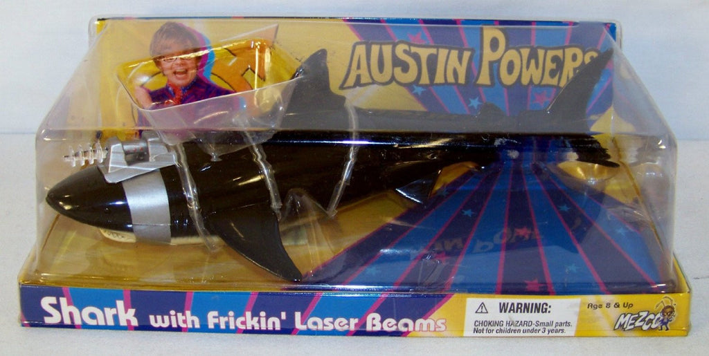 Austin Powers: Goldmember (Film) – (Series 3) – Shark with Frickin' Laser Beams Figure