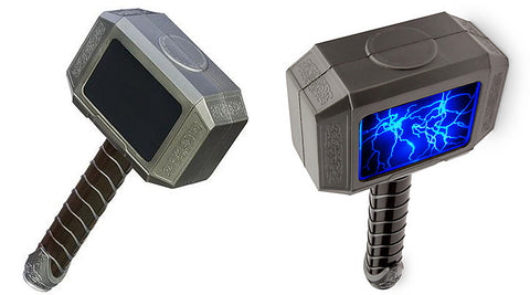 "Avengers Initiative – Thor Electric ""Lightning Strike"" Hammer"