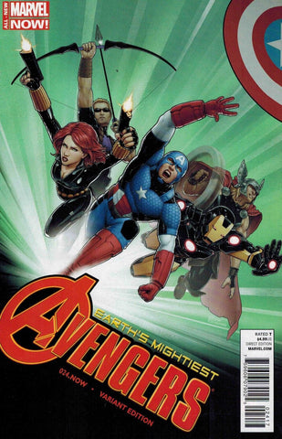 "Avengers (2012 Series) #24 (Variant ""ACX"" Cover - Christopher)"