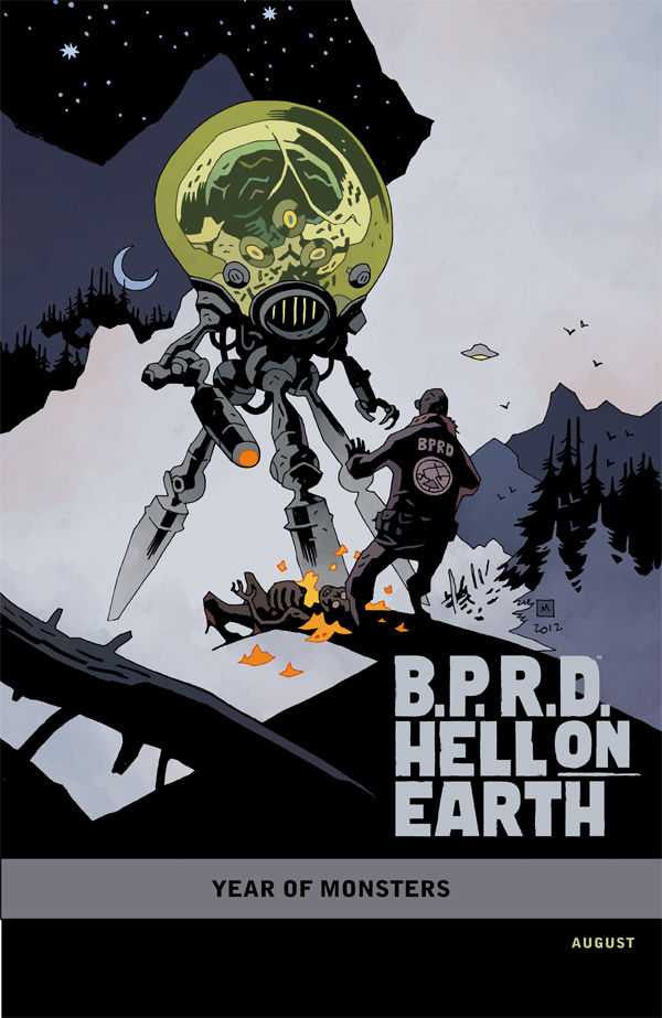 "B.P.R.D. Hell on Earth: Return of the Master (2011 Mini-Series) #1 (Variant Incentive ""Year of Monsters"" Cover - Mike Mignola)"