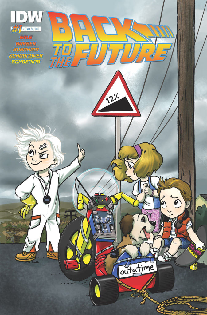 Back to the Future (2015 mini-series) #01-5 [SET] — Volume 00: Untold Tales & Alternate Timelines (All Variant Subscription Covers)
