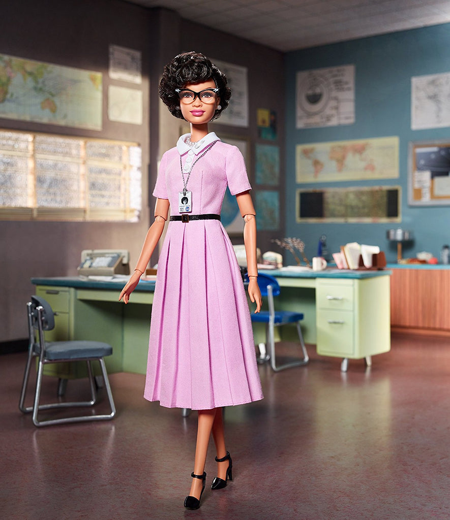 "Barbie – Inspiring Women Series – Katherine Johnson Collector's 12"" Figure"