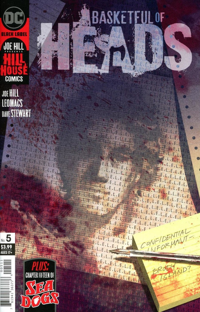 Basketful of Heads (2019 mini-series) #5 (of 7) (Regular Cover - Reiko Murakami)