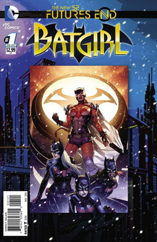 Batgirl: Future's End (2014 One-Shot) #1 (Regular Cover - Clay Mann)