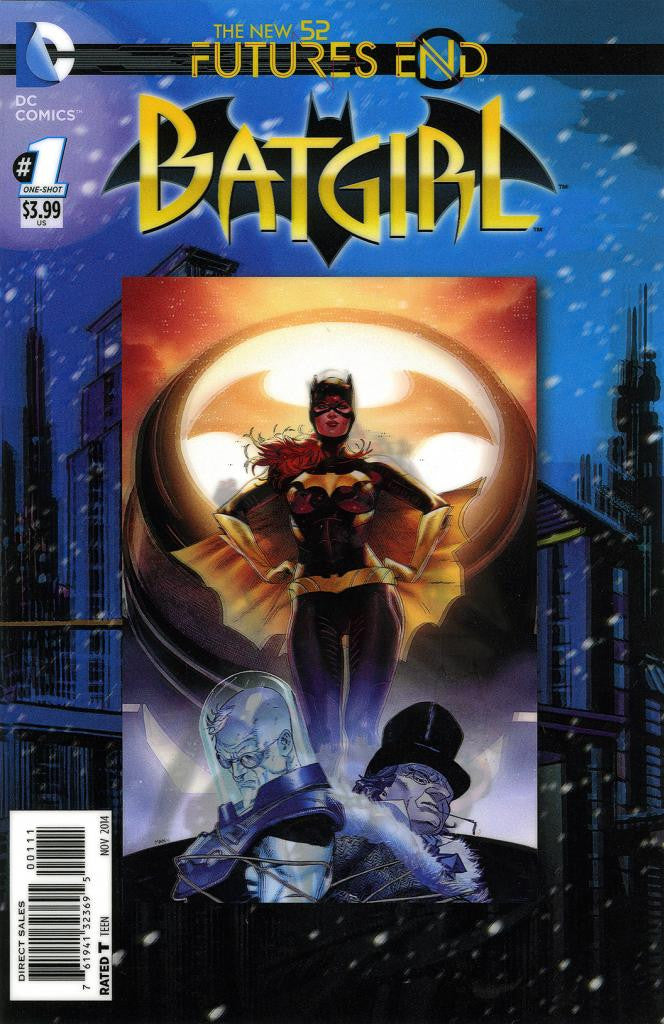 "Batgirl: Future's End (2014 One-Shot) #1 (Variant ""3-D"" Cover - Clay Mann)"