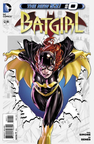Batgirl 2011 Series 34 Variant Selfie Cover Dave Johnson