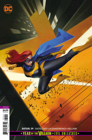 "Batgirl (2016 series) #39 (Variant ""Year of the Villain"" Card Stock Cover - Jeff Dekal)"