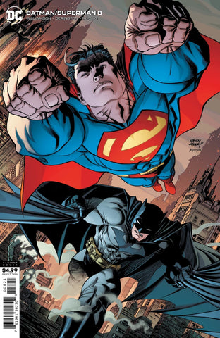 Batman / Superman (2019 series) #8 (Variant Card Stock Cover - Andy Kubert)
