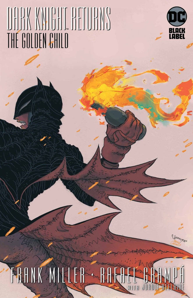 "Batman; The Dark Knight Returns - The Golden Child (2019 one-shot) #1 (Variant ""B"" ""Artist"" Cover - Rafael Grampá)"