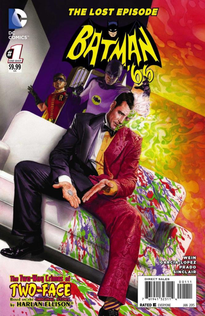 Batman '66: The Lost Episode (2014 One-Shot) #1