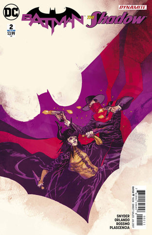Batman / The Shadow (2017 Mini-Series) #2 (of 6) (Regular Cover - Riley Rossmo)