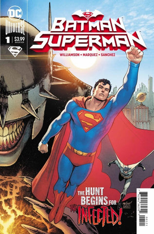 "Batman / Superman (2019 series) #1 (Regular ""Superman"" Cover - David Marquez)"