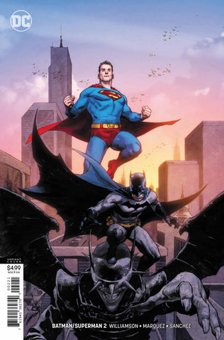 Batman / Superman (2019 series) #2 (Variant Card Stock Cover - Jerome Opeña)