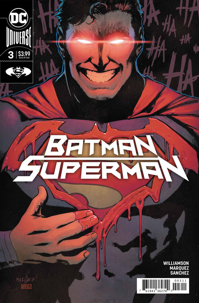 Batman / Superman (2019 series) #3 (Regular Cover - David Marquez)