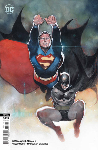 Batman / Superman (2019 series) #4 (Variant Card Stock Cover - Olivier Coipel)