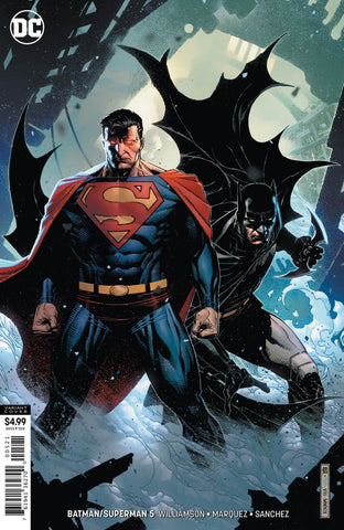 Batman / Superman (2019 series) #5 (Variant Card Stock Cover - Jim Cheung)
