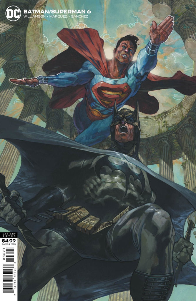 Batman / Superman (2019 series) #6 (Variant Card Stock Cover - Simone Bianchi)