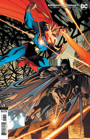 Batman / Superman (2019 series) #7 (Variant Card Stock Cover - Andy Kubert)