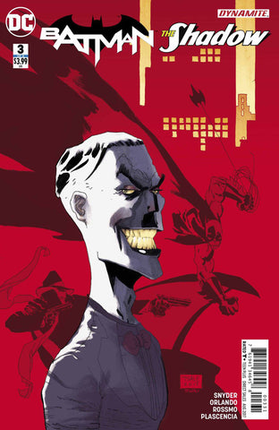 Batman / The Shadow (2017 Mini-Series) #3 (of 6) (Variant Cover - Tim Sale)