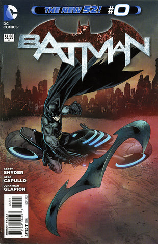Batman (2011 Series) #0 (Variant Cover - Andy Clarke)