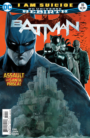 Batman (2016 Series) #10 (Regular Cover - David Finch)