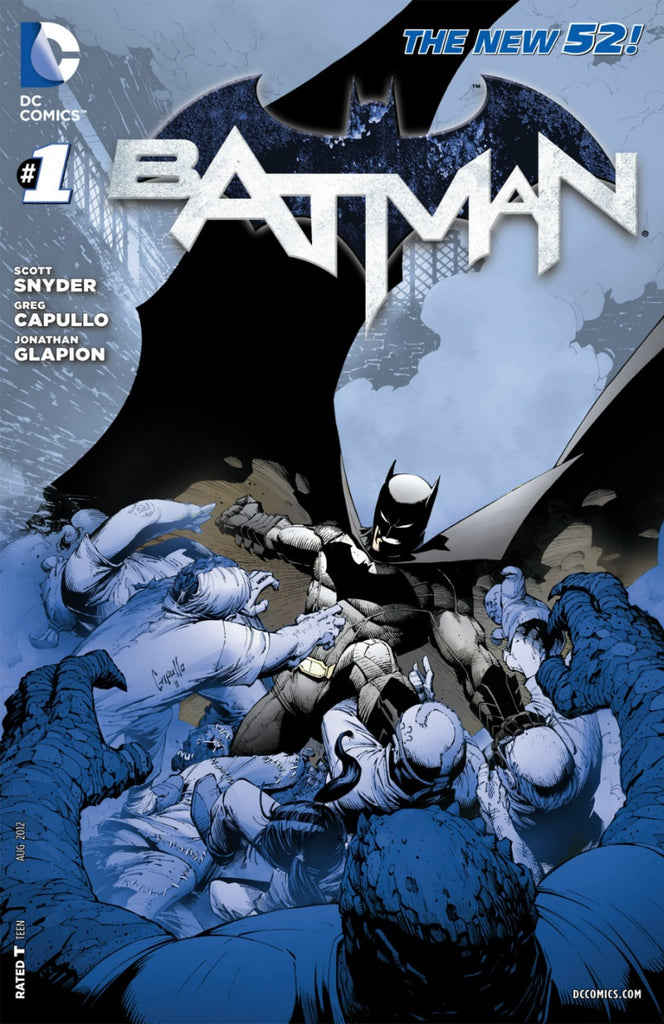 Batman (2011 Series) #1 (Variant 5th Printing Recolored Cover - Greg Capullo)