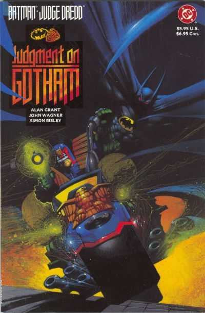 Batman / Judge Dreddd: Judgment on Gotham (1991 One-Shot) #1