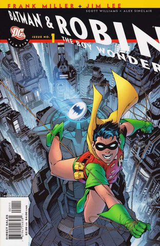 "All-Star Batman and Robin the Boy Wonder (2005 Series) #1 (Variant ""Robin"" Cover - Jim Lee)"