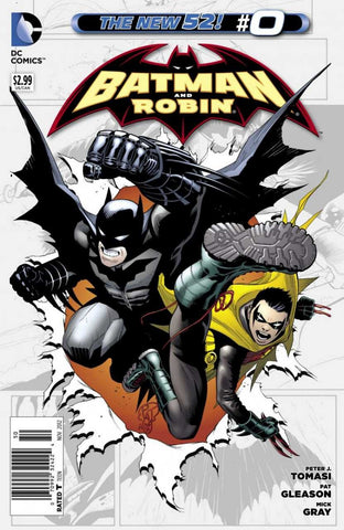 Batman and Robin (2011 Series) #0