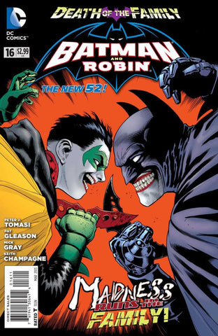 Batman and Robin (2011 Series) #16