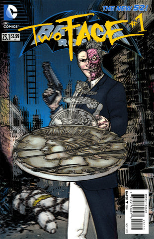 "Batman and Robin (2011 Series) #23.1 Two-Face (Variant ""3-D"" Cover - Guillem March)"