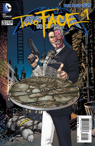 Batman and Robin (2011 Series) #23.1 Two Face (Regular Cover - Guillem March)
