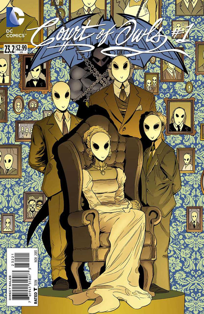 Batman and Robin (2011 Series) #23.2 Court of Owls (Regular Cover - Patrick Gleason)