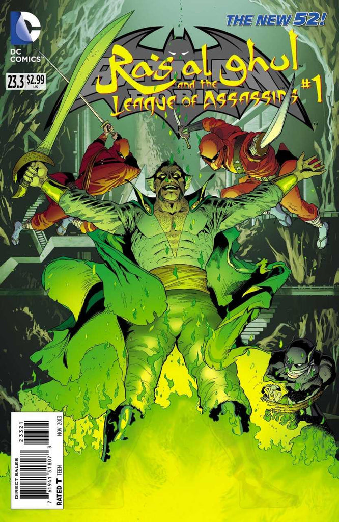 Batman and Robin (2011 Series) #23.3 Ra's Al Ghul and the League of Assassins (Regular Cover - Patrick Gleason)