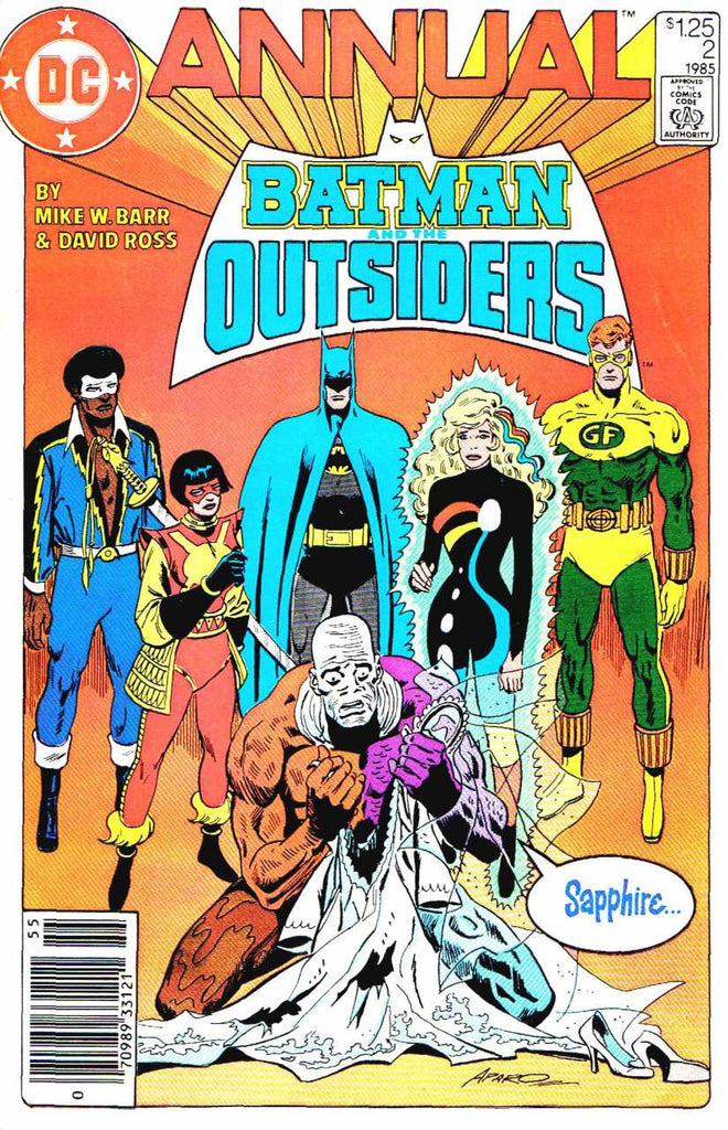 Batman and the Outsiders (1983 Series) Annual #2