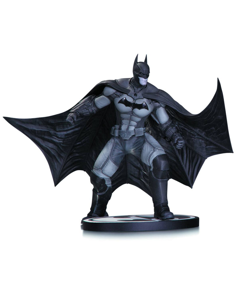Batman: Black and White Statue – Batman from Arkham Origins by Gentle Giant