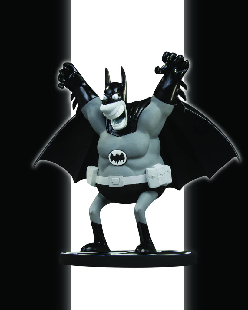Batman: Black and White Statue – Batman by Sergio Aragones