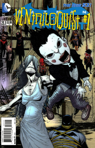 "Batman: Dark Knight (2011 Series) #23.1 Ventriloquist (Variant ""3-D"" Cover - Patrick Gleason)"