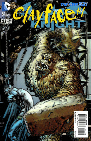 "Batman: Dark Knight (2011 Series) #23.3 Clayface (Variant ""3-D"" Cover - Guillem March)"