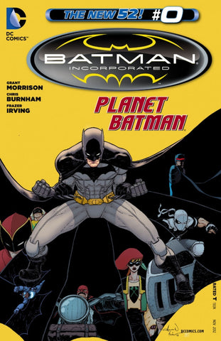 Batman, Incorporated (2012 Series) #0 (Variant Cover - Aaron Kuder)