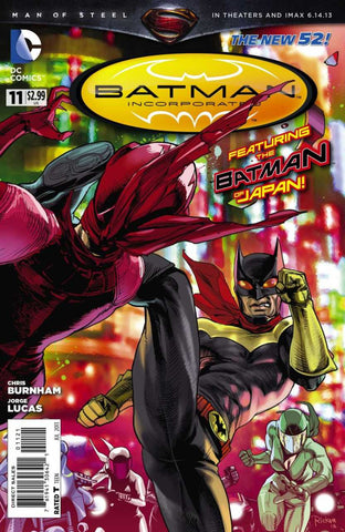 Batman, Incorporated (2012 Series) #11 (Variant Cover - Ricken)