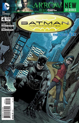 Batman, Incorporated (2012 Series) #4 (Variant Cover - Andy Clarke)