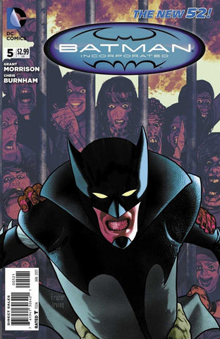 Batman, Incorporated (2012 Series) #5 (Variant Cover - Frazer Irving)