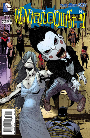 Batman: Dark Knight (2011 Series) #23.1 Ventriloquist (Regular Cover - Patrick Gleason)
